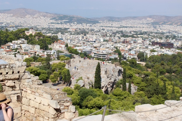 Mars Hill, or the meeting place of the Areopagus.