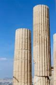 Detail, portico columns, Acroplis.