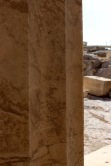 Look for the graffiti cross from the Christian era on the Acropolis.
