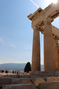 Parthenon, northeast corner.