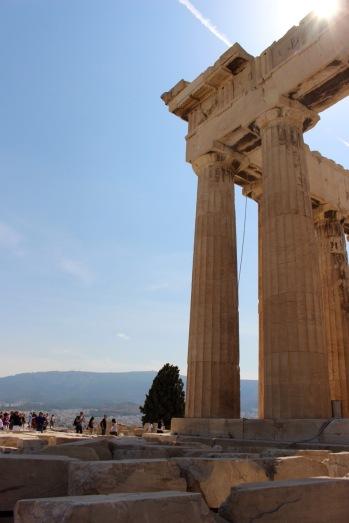 Parthenon, northeast corner.