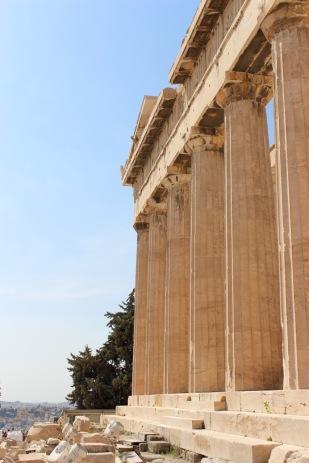 Parthenon, east wall.