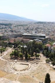 Theatre of Dionysius and Acropolis Museum.