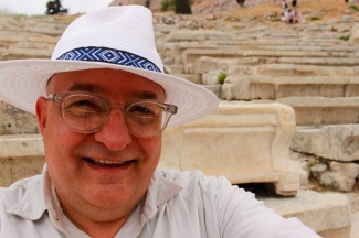 Seated in the Theatre of Dionysius.