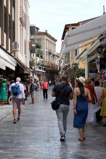 Plaka street.