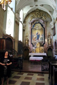 The family's chapel.