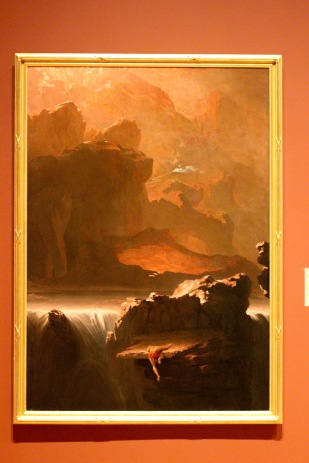 My favorite painting in this museum. Oblivion.