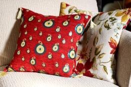 Greek pillow cover.