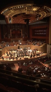 My view at Meyerson.