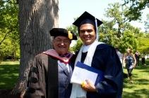 With my advisee Patrick Zelaya