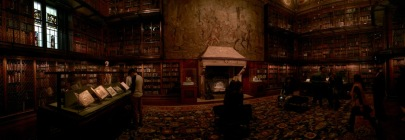 His library.