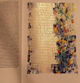 Illuminated Bible.