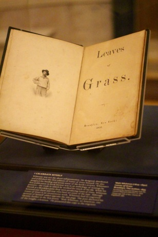 First edition of 'Leaves of Grass.'
