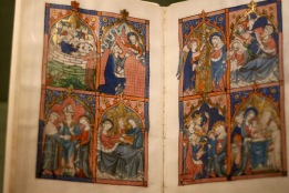 Fragment of the Ramsey Psalter, ca. 1300. English.