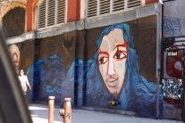 Street mural.