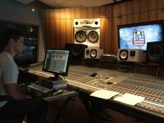 Luke in the control room