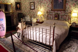 Churchill was born in this room.