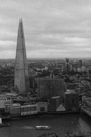 The Shard. Pictures FROM this building later today.