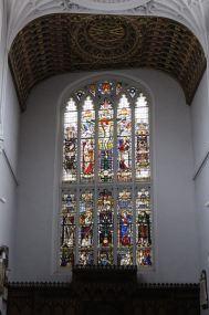 East window in a Wren church.