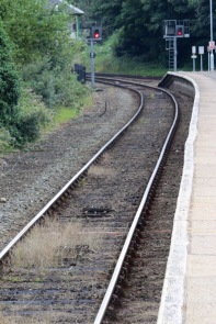 Train tracks at Cromer
