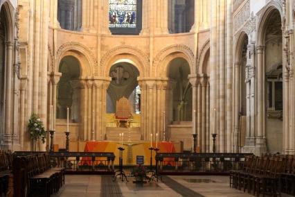 Altar after service