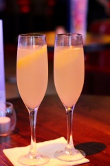 French 75s to celebrate.