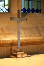 In a side chapel.