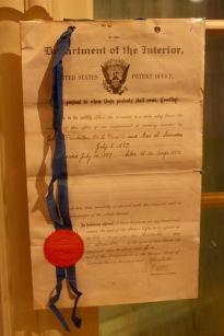 The original Coca-Cola patent.