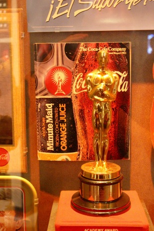 Oscar Award from when Coke owned Columbia Pictures.