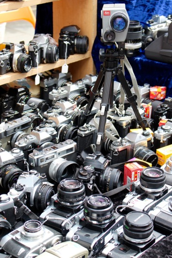 So this is where old cameras go!