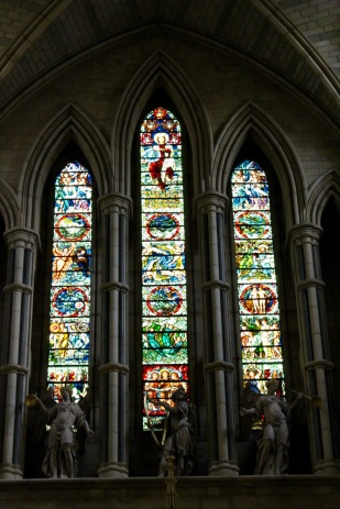 West window.