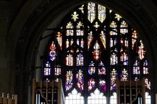 Detail, new west window.