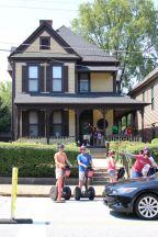 MLK birthhouse.