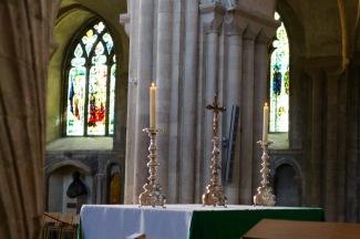 Altar in nave