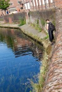 Fishing on the River Fye.