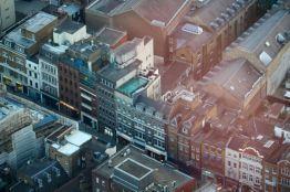 London streetscape.