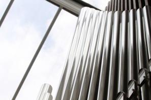 Organ at Swiss Church.