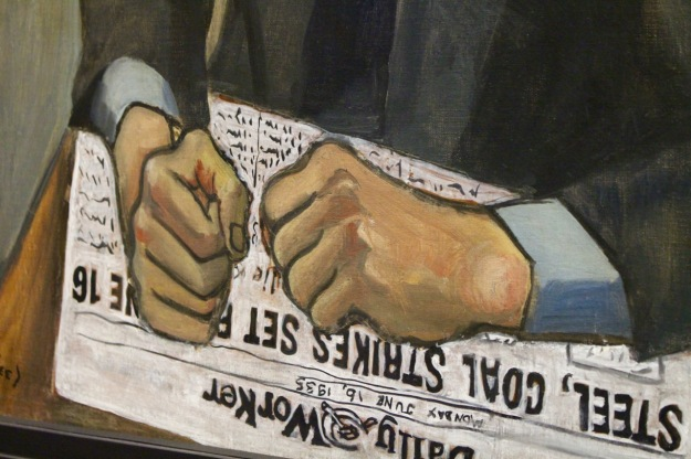 Alice Neel, 1935. Detail of Pat Whelan.