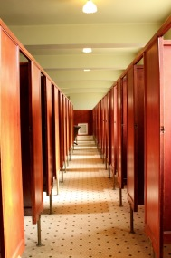 Ladies' changing room.