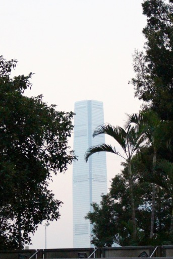Sky 100 from Hong Kong Island.