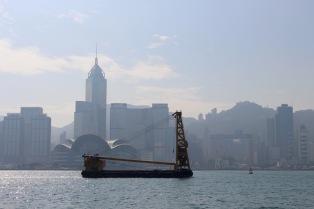 Looking south to Hong Kong Island.
