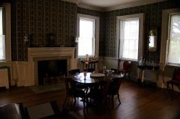 Dining room. Washington dined here.