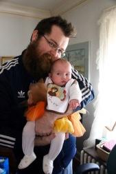Nephew Blayne, Lily's father.