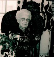 Aunt Esther, Christmas 2006.