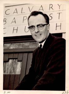 At Calvary Baptist Church, Columbia, Missouri, in 1964, age 29.