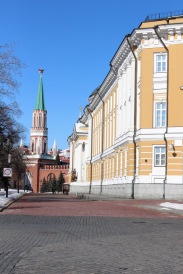 The Presidential offices on the right.