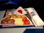 Breakfast over Europe.
