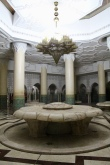 One of many fountains for ritual washing before prayers.