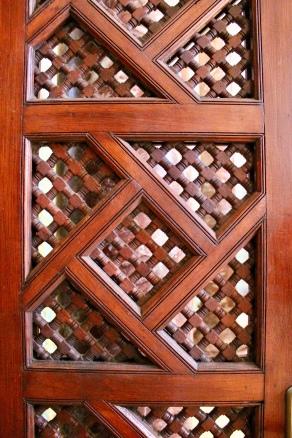 Detail of an interior door.