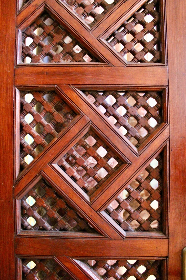 Detail of an interior door.
